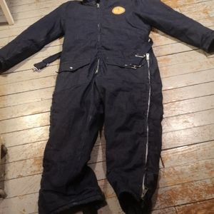 Workchief insulated coveralls